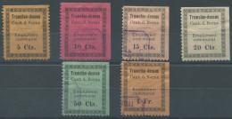 1396 - TRAMELAN Fiskalmarken - Fiscaux