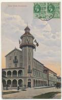 British Guiana Guyana Guyane Britannique Tower Hotel P. Used  Demerara To Santa Cruz California Edit The Argosy - Autres