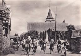 Carte 1960 CANAPPEVILLE / Très Animée Enfants Vélo,église - Autres Communes