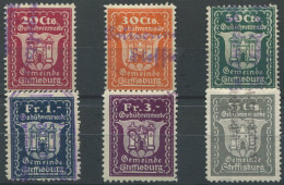 1401 - STEFFISBURG Fiskalmarken - Fiscaux