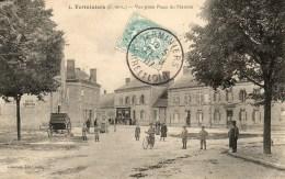 Terminiers. Vue Prise Place Du Marché. - Non Classés
