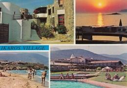 Greece 57146 Crete Malia Ikaros Village Posted - Grecia