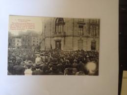 LIMOGES,  GREVES 17 AVRIL 1905 ,Pierre Bertrant Et Les Délégués Ouvriers Sortant De La Prefecture,  Cpa - Limoges