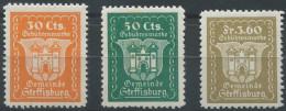 1404 - STEFFISBURG Unbekannte Fiskalmarken - Fiscaux