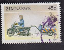 Zimbabwe. Motocyclette Et Remorque 207 - Motorbikes