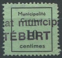 1406 - CORTÉBERT Fiskalmarke - Steuermarken
