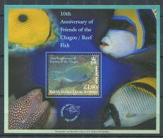 158 Territoire Britannique OCEAN INDIEN 2002 - Poisson (Yvert BF 19) Neuf ** (MNH) Sans Charniere - Territoire Britannique De L'Océan Indien