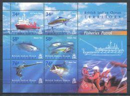 158 Territoire Britannique OCEAN INDIEN 2004 - Bateau Poisson (Yvert 283/88) Neuf ** (MNH) Sans Charniere - Territoire Britannique De L'Océan Indien