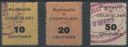 1409 - COURTELARY Fiskalmarken - Fiscaux