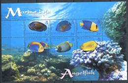 158 Territoire Britannique OCEAN INDIEN 2006 - (I) Poisson Ange (Yvert 350/55) Neuf ** (MNH) Sans Charniere - Territoire Britannique De L'Océan Indien