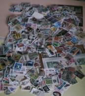 Vrac De 280 Grammes De TIMBRES Tout Pays OBLITERES Décollés - Mise à Prix 1 Euro ! A SAISIR - Lots & Kiloware (mixtures) - Min. 1000 Stamps