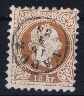 Liechtenstein: Forerunner 1883 Mi Nr 39 ,15 Kr Nice Cancel Vaduz With Certificate Kimmel. - Liechtenstein