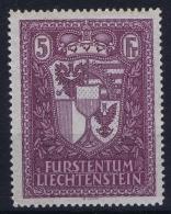 Liechtenstein: 1935 Mi 142  MNH/**/postfrisch/neuf - Liechtenstein