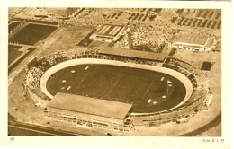 NETHERLANDS Official Unused Olympic Postcard Nr. 17 With The Stadium During The First Hockeymatch