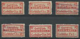 1411 - SUMISWALD Fiskalmarken - Steuermarken