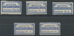 1414 - SUMISWALD Fiskalmarken - Fiscaux