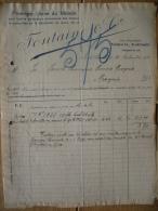 Facture 1924 AACHEN - FONTAINE & C° - Première Usine Du Monde Pour La Fine Perforation Mécanique Des Métaux - Allemagne
