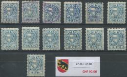 1415 - SUMISWALD Fiskalmarken - Fiscaux