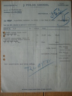 Factuurr 1925 AMSTERDAM - J.POLAK GRODEL - Pays-Bas