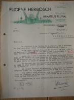 Brief 1939 ANTWERPEN - EUGENE HERBOSCH - Armateur Fluvial - België