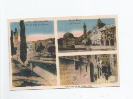 JERUSALEM 010 CARTE 3 VUES (HARAM ET RUE VIEILLE VILLE) - Israele