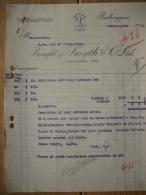 Facture 1925 DUBLIN - BOUGHT Of SMYTH C° Ltd - BALBRIGGAN - Royaume-Uni