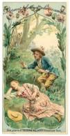 Chromo Chocolat Du Planteur - Dormez, Dormez Chères Amours, Signé Maurice Leloir ( âne ) - Chocolat