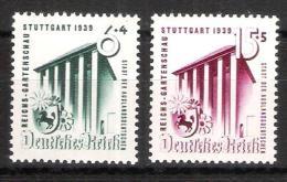 Reich N° 632 à 633 Neufs * - Allemagne