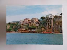 ITALY ITALIA ITALIE SORRENTO ALBERGHI EXCELSIOR VICTORIA & TERRAZA 1960 YEARS POSTCARD - Napoli (Naples)