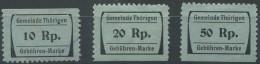 1422 - THÖRIGEN Fiskalmarken - Fiscaux