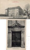 REQUISTA - 2 CPA - Le Collège -Porte (86201) - Frankreich