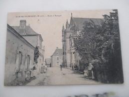 CPA 49 SAINT MARTIN DU BOIS ROUTE D'ANDIGNE - France