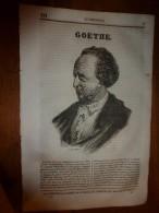 1836 LM :Goëthe;Le Duel De Bayard Avec Don Alonzo;Pachyderme Hyrak (daman);Château D'Anet;Saint-Rémy; Le Curé Prudent - Vieux Papiers