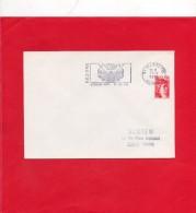 Flamme  ( Béziers Féria Du Mois D'Août ) - Marcophilie (Lettres)
