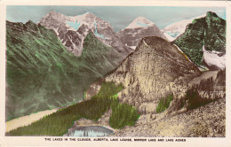 Alberta - The Lakes In The Clouds, Lake Louise, Mirror And Agnes Lake (1931) - Banff
