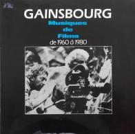 """Serge Gainsbourg  """"  Musiques De Films De 1960 à 1980  """" - Soundtracks, Film Music"""