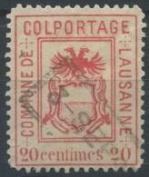 1427 - LAUSANNE Fiskalmarke - Steuermarken