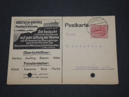 ALLEMAGNE - Carte Commerciale Avec Jolie Gravure Pour L´Alsace - Juil 20 - Détaillons Collection - A Voir - P17479 - Deutschland