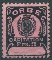1428 - ORBE Fiskalmarke - Fiscaux