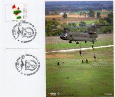 """VITERBO - 2011 - 35° Anniv. Costituzione 1° RGT  AVES """" ANTARES """" - - Elicotteri"""