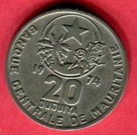 20  1974  TB  10 - Mauritanie