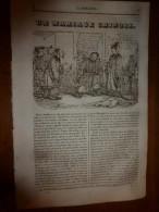 1836 LM :Un Mariage Chinois;Formation De La Terre Végétale;Cathédrale STRASBOURG;Distance Des Villes Du MONDE;Le Lompe - Vieux Papiers