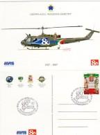 BOLZANO -BOZEN - 2007 - Gruppo Aviazione Esercito -Anniversario-Jahrestac A.V.I.S. 1927-2007 - - Elicotteri