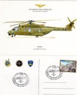 VITERBO - 2008 - Cerimonia Ufficiale Introduzione In Linea Di Volo Elicottero NH-90 - - Elicotteri