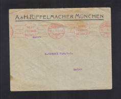 Bayern Brief 1910 München Franko - Bavaria