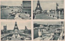16 / 4 / 139  -  PARIS  - LOT  DE  15 CP  DE  L'EXPOSITION  INTERNATIONALE  DE  1937 - Toutes Scanées - 5 - 99 Postcards