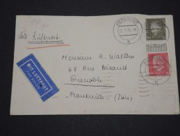 ALLEMAGNE - Env Par Avion Pour Grenoble France - Mai 1933 - Détaillons Collection - P17487 - Deutschland