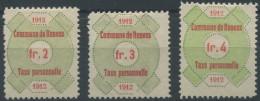 1436 - RENENS Fiskalmarken - Fiscaux
