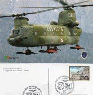"MONTEFIASCONE (VT) - 2007 -  Elicottero CH47C - ETM1 - 1° RGT. Aves "" Antares ""  Viterbo - - Elicotteri"