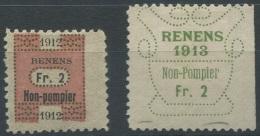 1438 - RENENS Fiskalmarken - Steuermarken